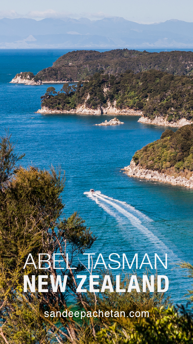 Celebrating beauty at Abel Tasman National Park