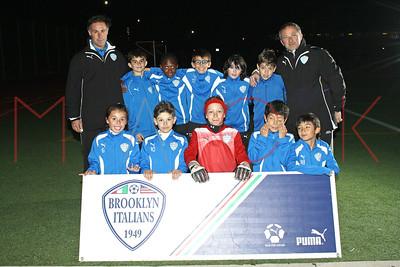 Brooklyn Italians S.A. Roma U-11 Team Photos