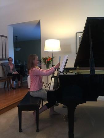 Kate's Piano Recital