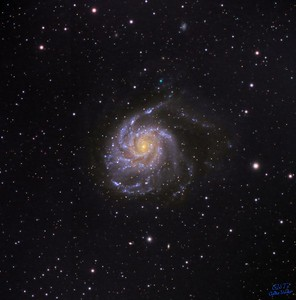 Astrophotography with the ASI-ZWO 533 cooled camera