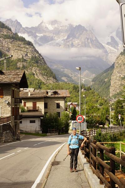 Stage 4 Rifugio Elisabetta to Courmayeur