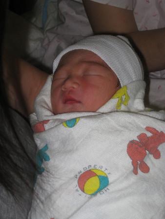 Logan at Mother-Baby Unit
