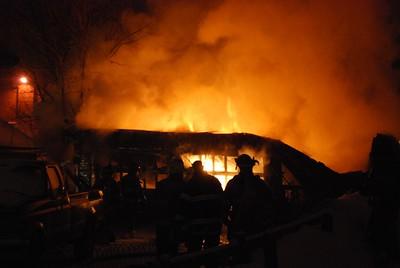 Garage Fire - Twiss St, Meriden, CT - 2/14/15