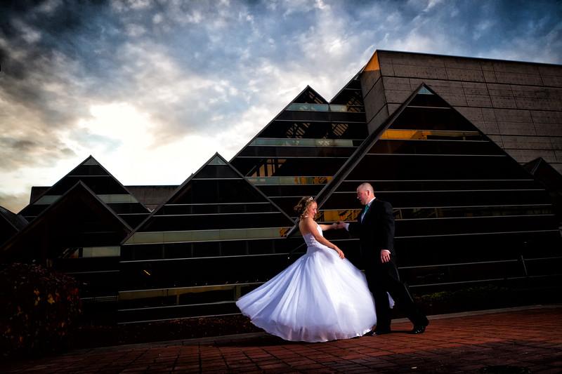 Evan and Crystal - All Wedding Photos