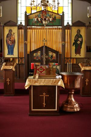 Jude's Christening, Chrismation & Communion