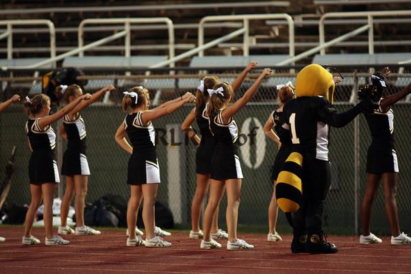 Cleburne Varsity Cheer Sept 17, 2009