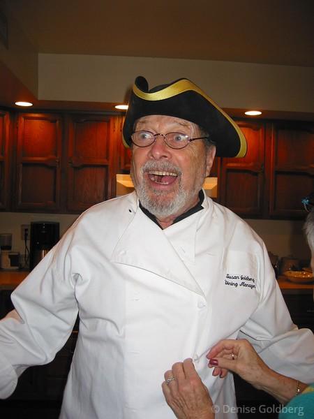 Dad - in the kitchen