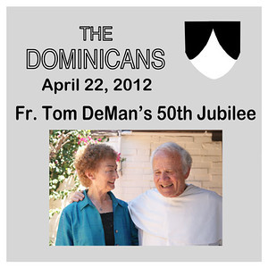 Fr. Tom DeMan's 50th Jubilee & Book Signing