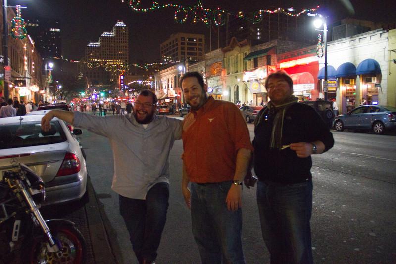 6th Street Friday Night; Geoff, Jason, Chris