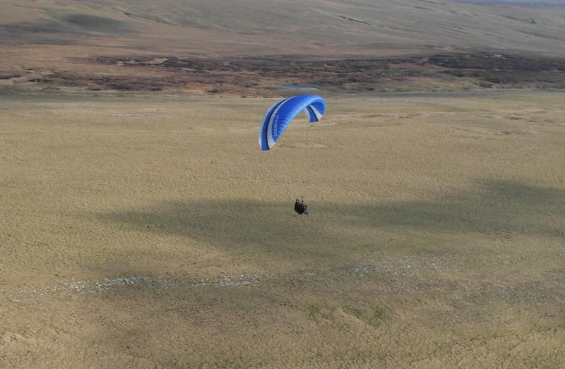 John over the top landing area!