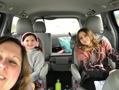 Xmas Drive to CA 2018