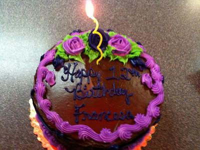 Francesca Birthday 2009 (11/2009)