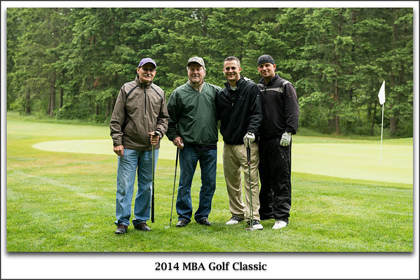 MBA Golf Classic 2014 Groups