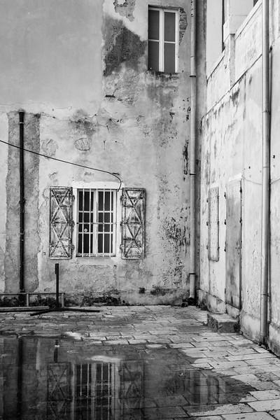 'Forgotten Courtyard' - Zadar, Croatia