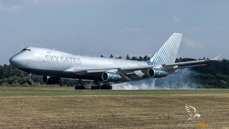 Sky Gates Airlines / Boeing B747-467F / VP-BCH
