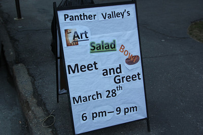Panther Valley Art Show, Meet and Greet, Community Arts Center, Tamaqua (3-28-2013)
