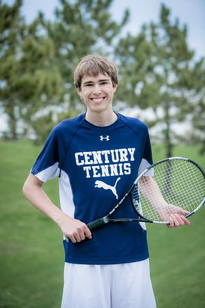 2016 Century Boys Tennis