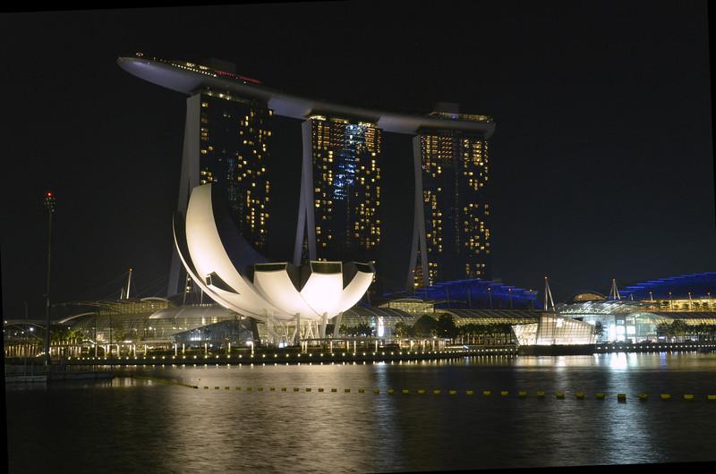 MBS, ArtScience Museum - Singapore
