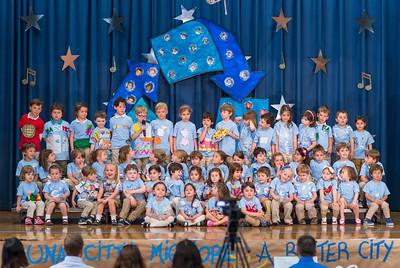 PreSchool - end of school show + graduation 2014