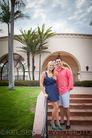Ricky and Kristen Santa Barbara Engagement Session