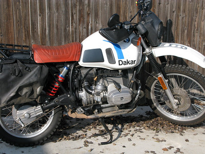 1981 BMW R80G/SPD
