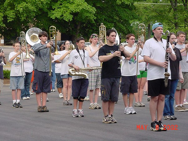 Marching Band Practices