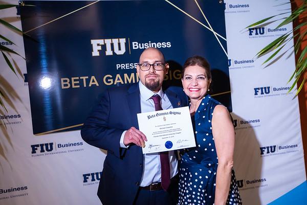 FIU Beta Gamma Sigma Ceremony 2019