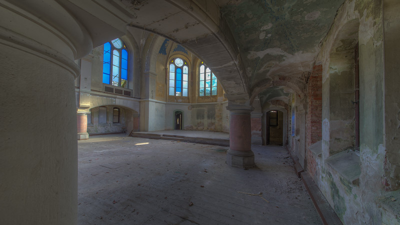 Urbex - Blue Meth Church