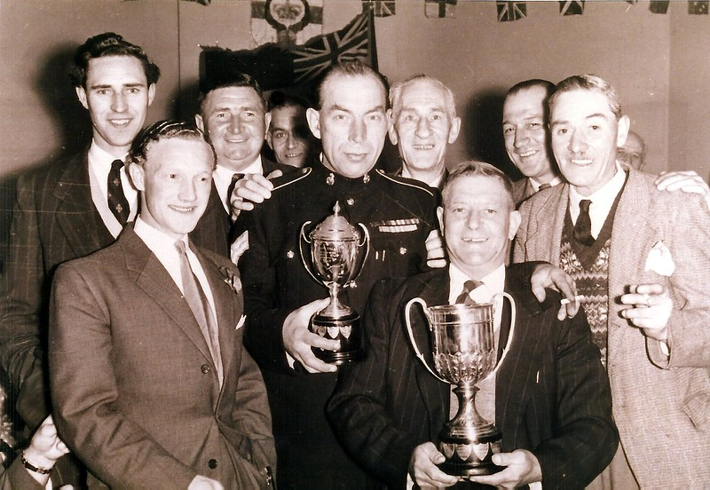 British Legion darts team winners 1950`s