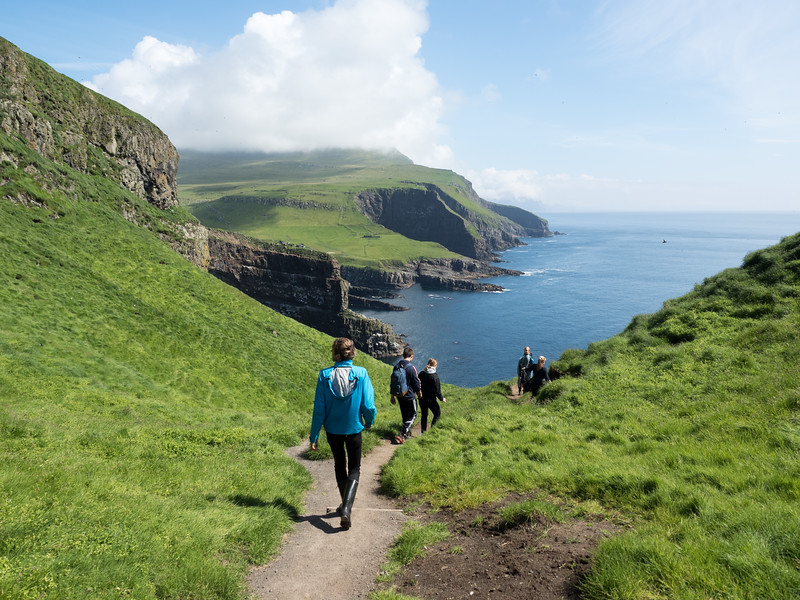 Hiking Mykines in the Faroe Islands