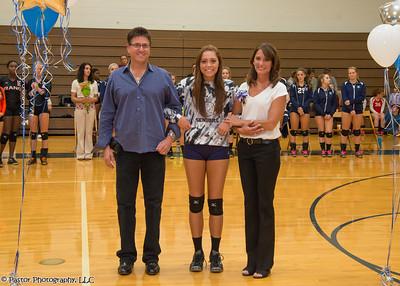 Volleyball Senior Night