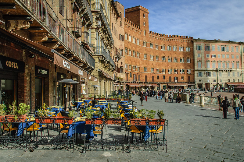 City Center, Sienna, Italy