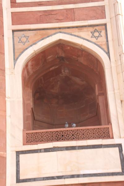 Humayun's Tomb balcony