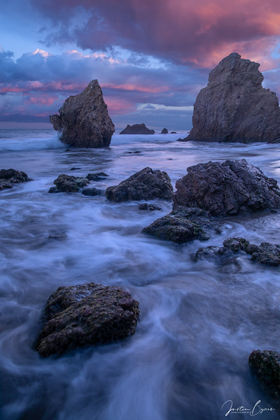 Sunset Seascape at the Ocean