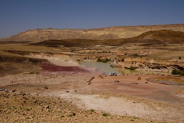 The Negev Desert, Masada and the Dead Sea