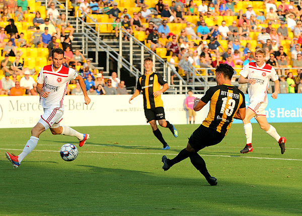 Charleston Battery vs Richmond Kickers July 28 2018