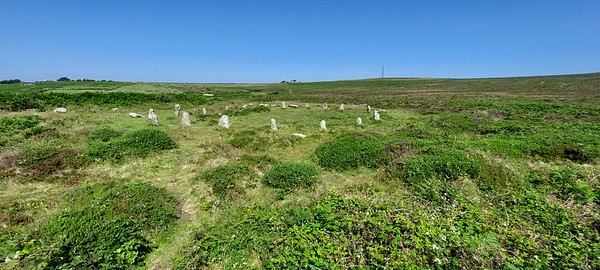 Tregeseal Stone Circle 2021