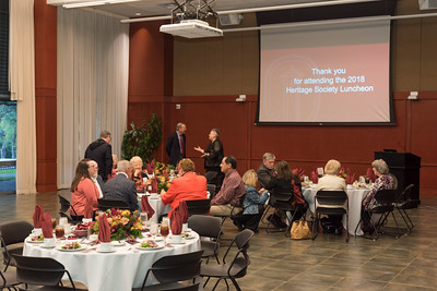 Heritage Society Luncheon - 102418