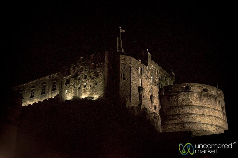 Edinburgh Castle at Night - Scotland