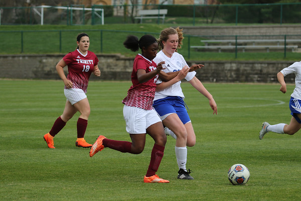 180418 Girls JV Soccer v Trinity