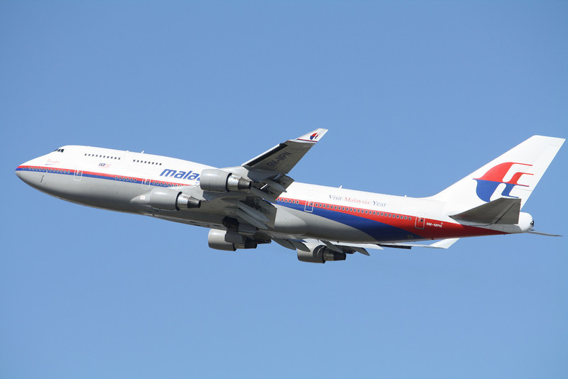 Malaysia Airlines Boeing 747-400 9M-MPN