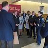 WELLS FARGO BANK DONATES TO SAN MATEO POLICE ACTIVITIES LEAGUE