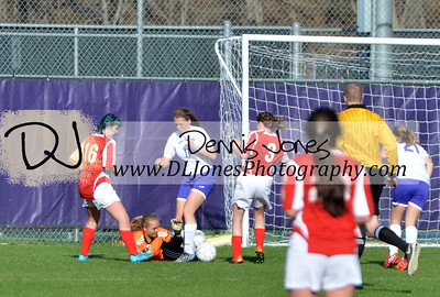 Laker Girls Soccer vs Glendale 4/8/16