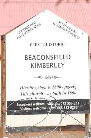 Kimberley   Historic First SDA Church   Built in 1980
