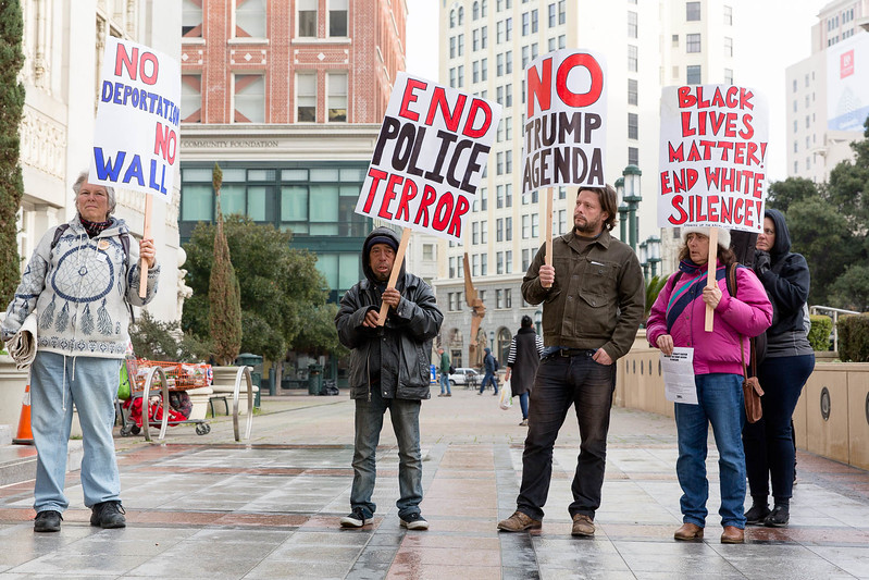 20170117 - T48A9403 -Reclaim MLK 120 Hours SURJ Expose Libby Schaff's Racism, Reject the Trump Agenda in Oakland - photographed by Sam Breach 2017 - 1080 short edge.jpg
