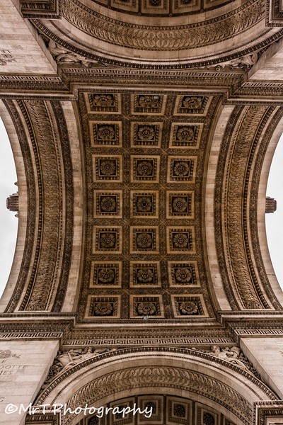 IUnder the Arc de Triomphe Paris