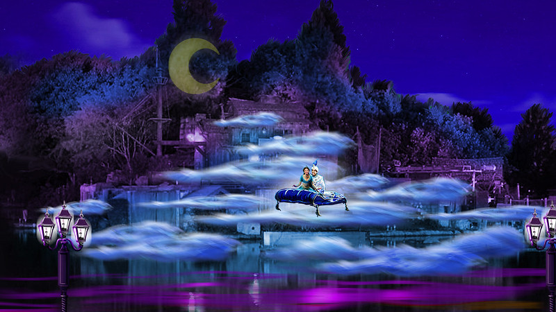Opening dates set for Fantasmic!, Rivers of America, Disneyland Railroad