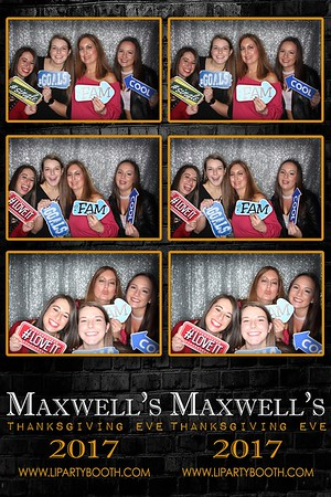 Maxwell's Thanksgiving Eve 2017