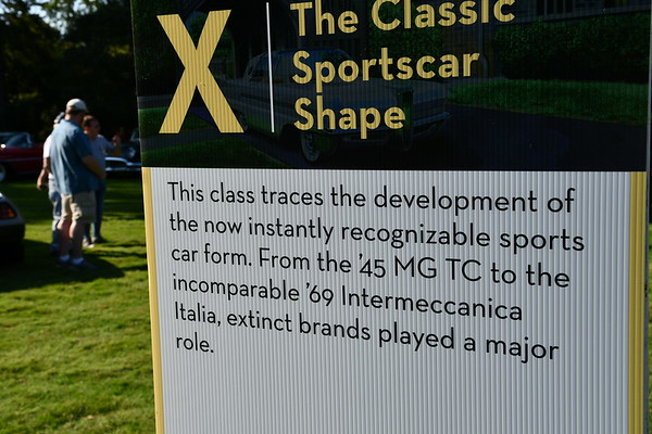 Classic Sport car Shape