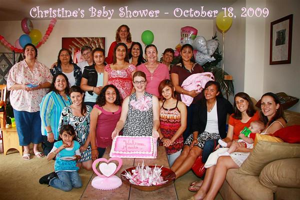 Christine's Baby Shower 10/18/09